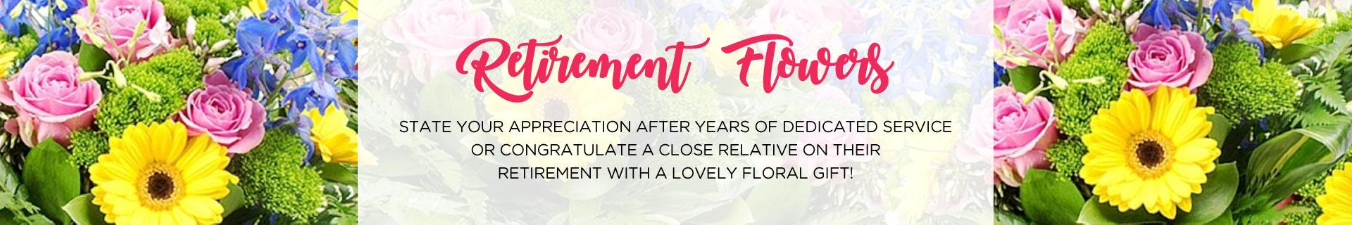 Retirement Flowers